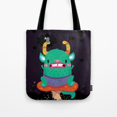 Monster of the night Tote Bag