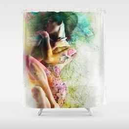 Self-Loving Embrace Shower Curtain