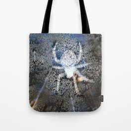 Frosty Spider Tote Bag