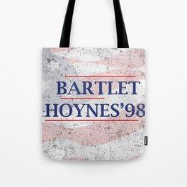 Bartlet and Hoynes '98 Tote Bag