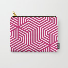 Dogwood rose - fuchsia - Minimal Vector Seamless Pattern Carry-All Pouch