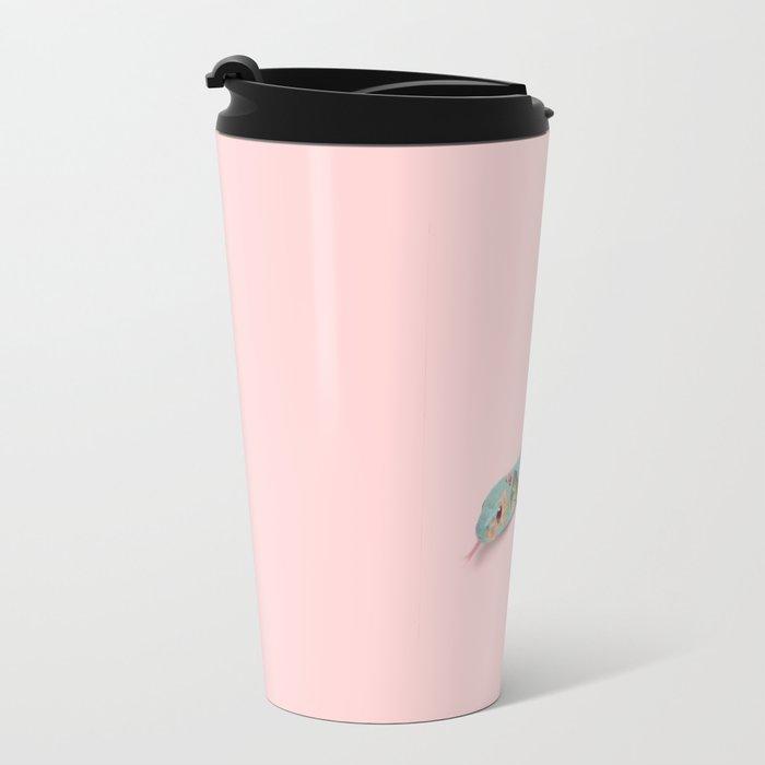 FLORAL SNAKE Travel Mug