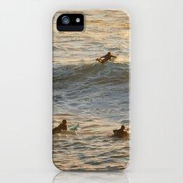 Waimea Bay Surfers iPhone Case