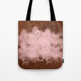 Pink Flamingo Cloud Tote Bag
