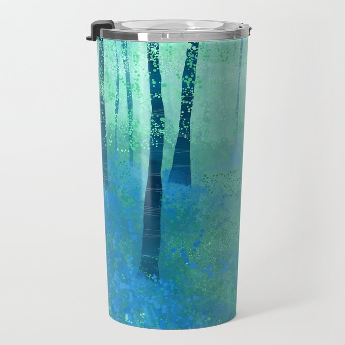 Bluebells, Challock Travel Mug
