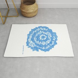 March's Blue 3  | Artline Drawing Pens Sketch Rug