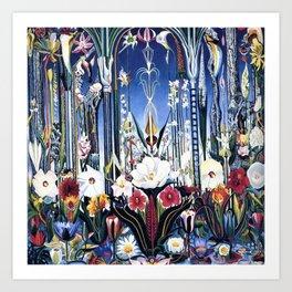 Flowers, Italy by Joseph Stella Art Print