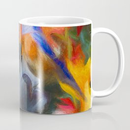 Surrounded In Fall Color Coffee Mug