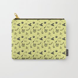 Hufflepuff Pattern Carry-All Pouch