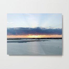 Sunrise on the GC Metal Print