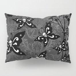 Skullerflies in the garden - dark scale Pillow Sham