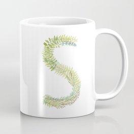 Initial S Coffee Mug