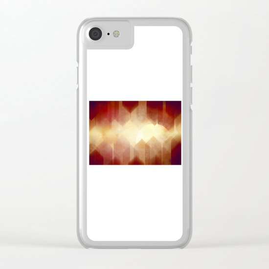 Welcome to Gear City Clear iPhone Case