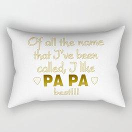 PAPA BEST Rectangular Pillow
