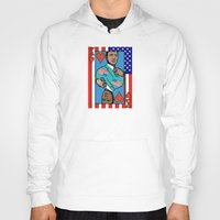 house of cards Hoodies featuring King Kevin of The House of Cards by Kramcox