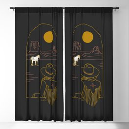 Lost Pony Blackout Curtain