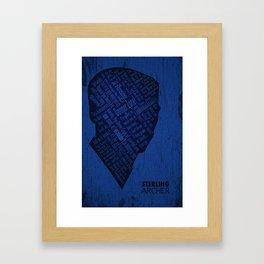 Archer Poster Framed Art Print