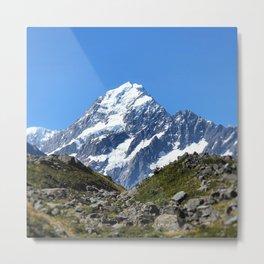 Symmetrical Mountainview Metal Print