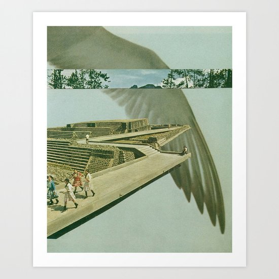 by air (full version) Art Print