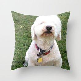 Sniffer Throw Pillow