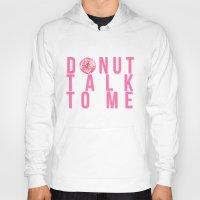 donuts Hoodies featuring Donuts by lastminutebinge