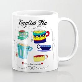 English Tea Cups Coffee Mug