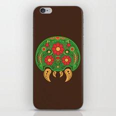 Dios De Los Metroids iPhone & iPod Skin