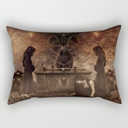 The Lord of Death Rectangular Pillow