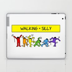 Pop Shop Silly Walks Laptop & iPad Skin