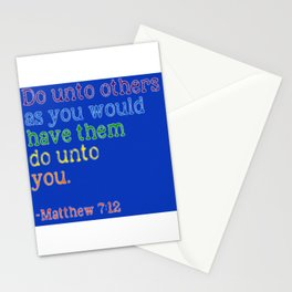 Do Unto Others... Stationery Cards