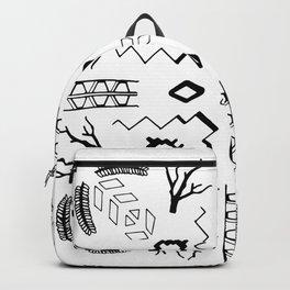 Organic Geometry Backpack