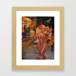 San Antonio Esta En Fuego, Henny!! Framed Art Print