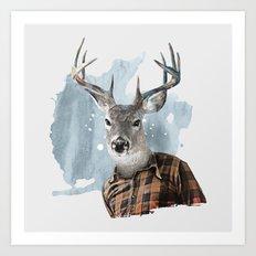 The Woodsman Art Print