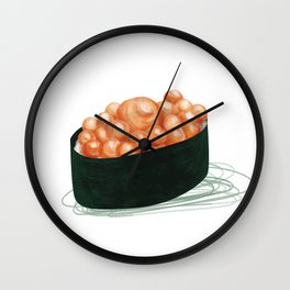 Ikura Sushi Wall Clock