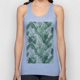 Banana leaves II Unisex Tank Top