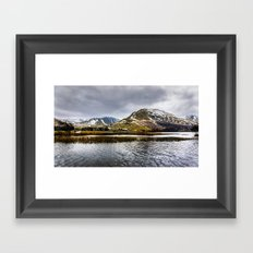 Brothers Water Lake District Framed Art Print