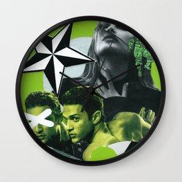 Consumable Goods (Green) Wall Clock