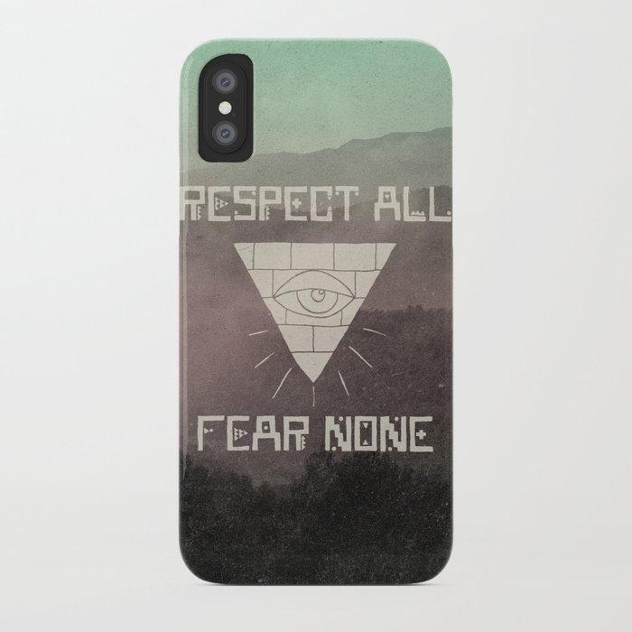 FEAR NONE iPhone Case