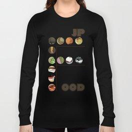 Japanese Food Bubble Zoom Long Sleeve T-shirt