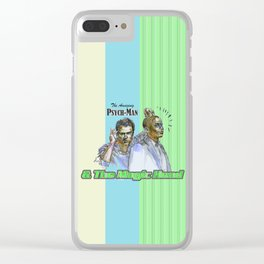 The Amazing Psych-Man & The Magic-Head - Psych quotes Clear iPhone Case