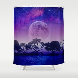 The Nile Shower Curtain