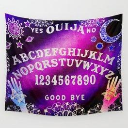 Galaxy Ouija Board Design Wall Tapestry