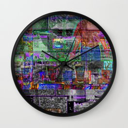 Boats, Ghosts, Beer And The Torso Of Bryan Cranston [A.N.T.S Series] Wall Clock