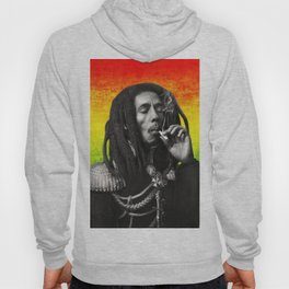 marley bob general portrait painting | Up In Smoke Fan Art Hoody