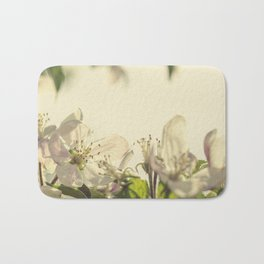 Vintage Apple Blossoms II Bath Mat