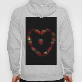 Heart of strawberries Hoody