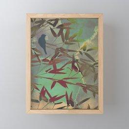 in the bamboo forest Framed Mini Art Print