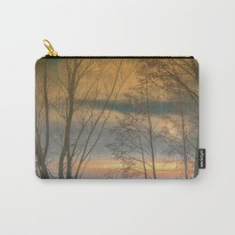 Evening sun over a lake Carry-All Pouch