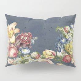 Floral Tribute to Louis McNeice Pillow Sham