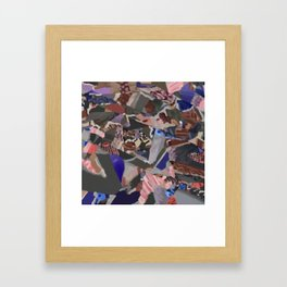 Any Other Way to Live Framed Art Print